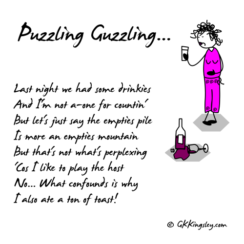 Puzzling Guzzling